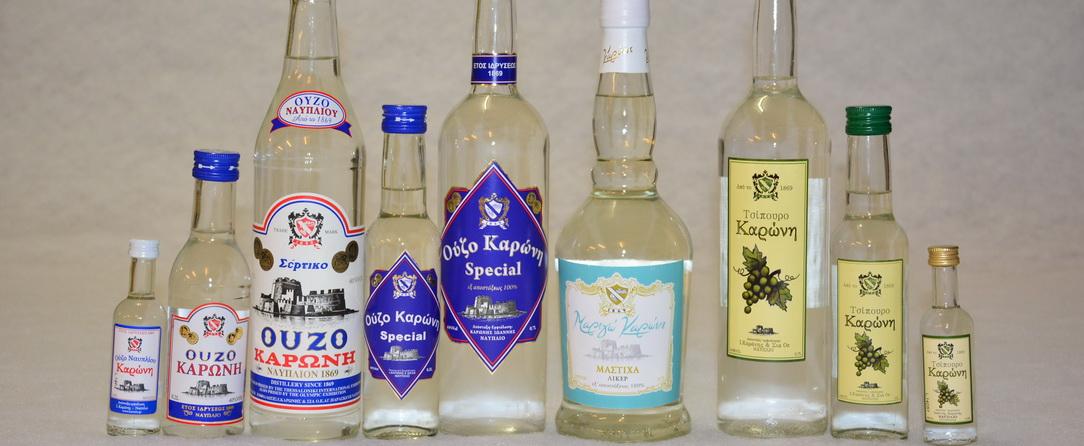 traditionelle Spirituosen